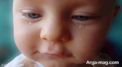 نکاتی در رابطه با گریه در کودکان