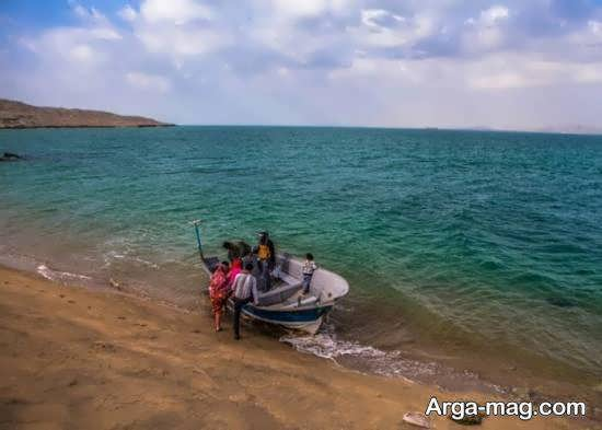 مسافرت به جزیره هندورابی واقع در خلیج فارس