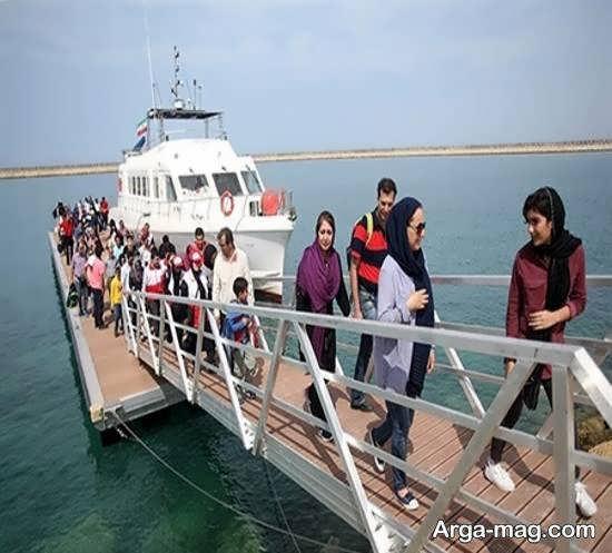 مسافرت به جزیره هندورابی جزیره ای واقع در خلیج فارس