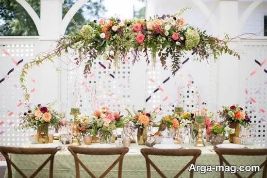 جدیدترین تزیینات عروسی در باغ