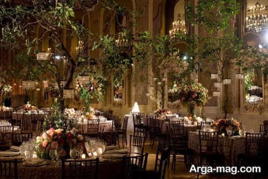 تزئینات دیدنی عروسی در باغ