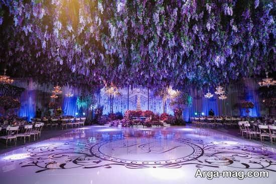 تزئینات و طراحی عروسی در باغ