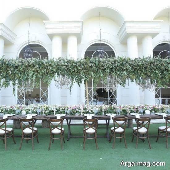 دکوراتیو و طراحی عروسی در باغ