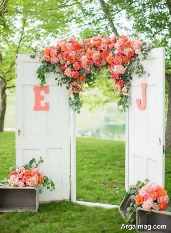 دکوراسیون جدید عروسی در باغ