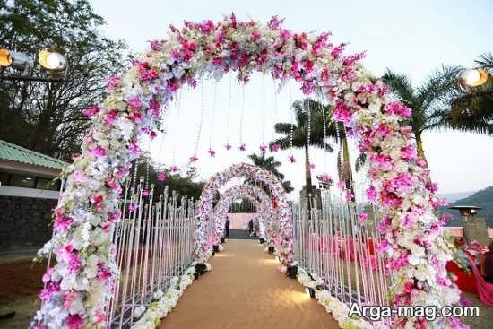 تزیینات عروسی در باغ+عکس