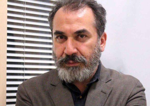 """سیامک انصاری و رضا عطاران در فیلم """"روشن"""""""