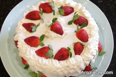 دستور تهیه خامه روی کیک