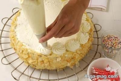خامه روی کیک