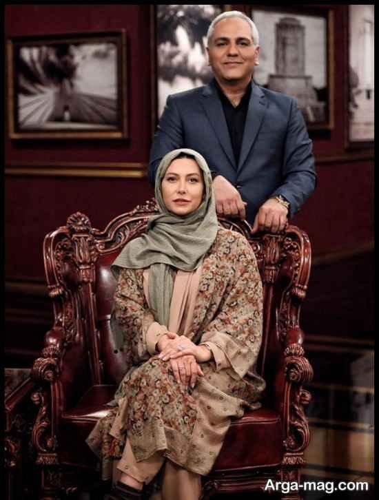 عکس های فریبا نادری در برنامه تلویزیونی دورهمی