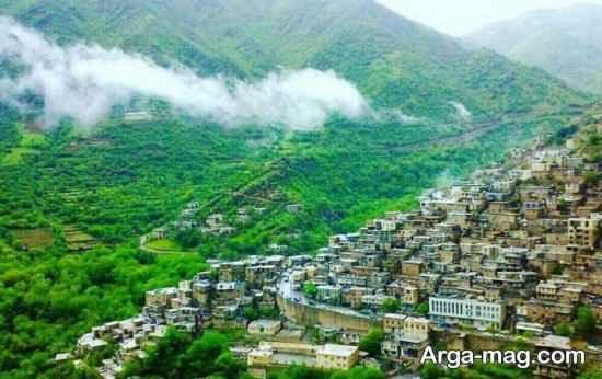 روستای دیدنی در کردستان