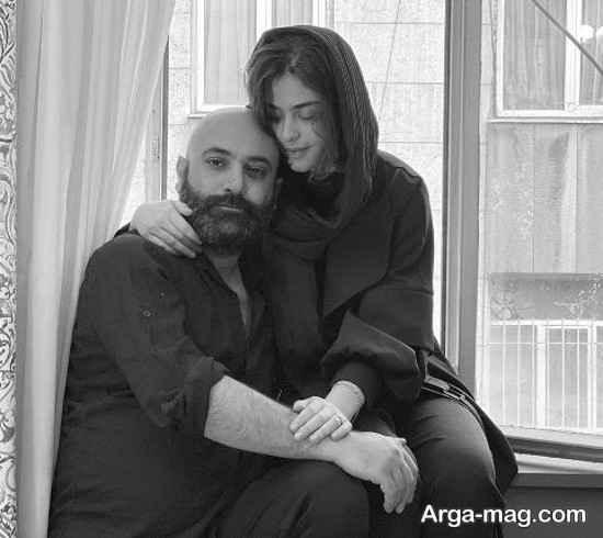 پست رمانتیک و جدید مهدی کوشکی برای همسرش!