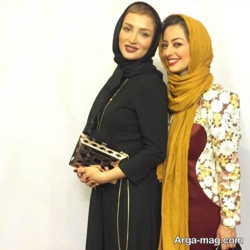 مانتوی ساده بازیگران ایرانی