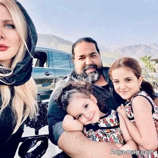 رضا صادقی با انتشار عکسی از دخترانش نسبت به قتل رومینا واکنس نشان داد!!!