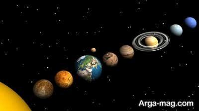 منظومه شمسی به چه شکلی است؟