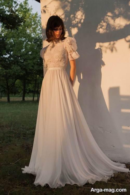 مدل لباس عروس کار شده و جدید