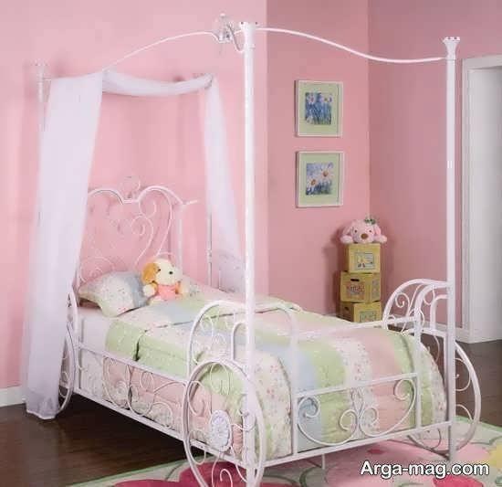 انواع نمونه های مدل تخت نوزادی زیبا و منحصر به فرد