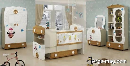 الگوهای زیبا و ایده آل تخت نوزادی مناسب سلیقه ها
