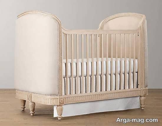 الگوهایی زیبا و جدید از تخت ها برای نوزادی