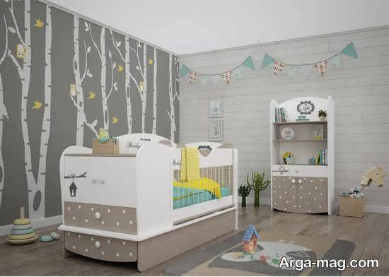 انواع نمونه های زیبا و جذاب مدل تخت نوزادی