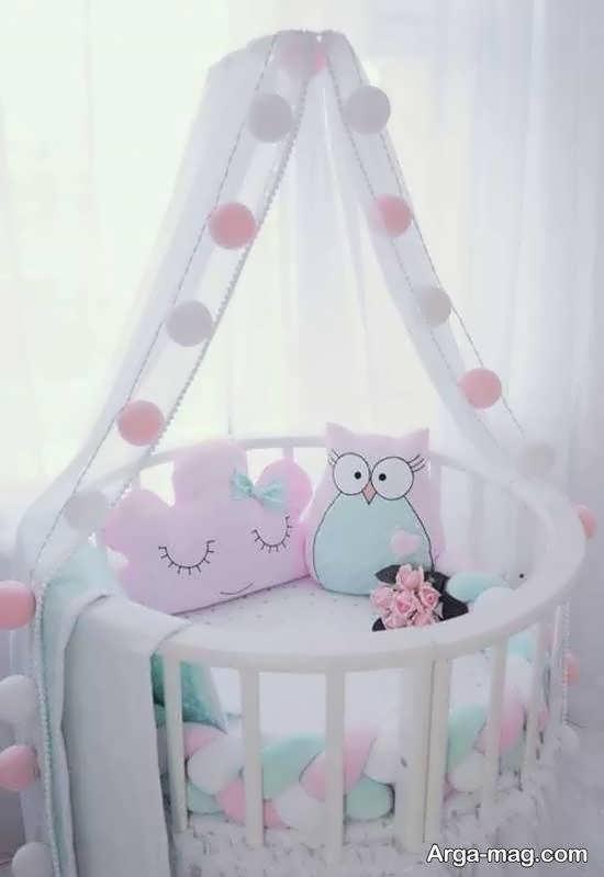 مجموعه ای زیبا و متنوع از الگوهای تخت نوزادی