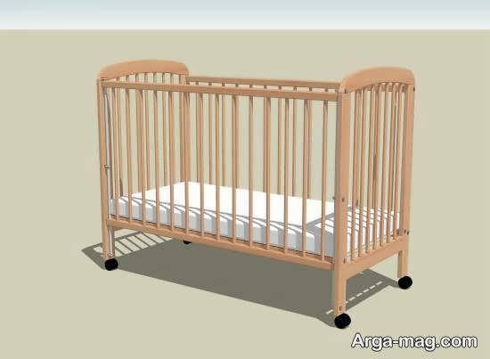 مجمومه ای زیبا و شیک از الگوی تخت نوزادی