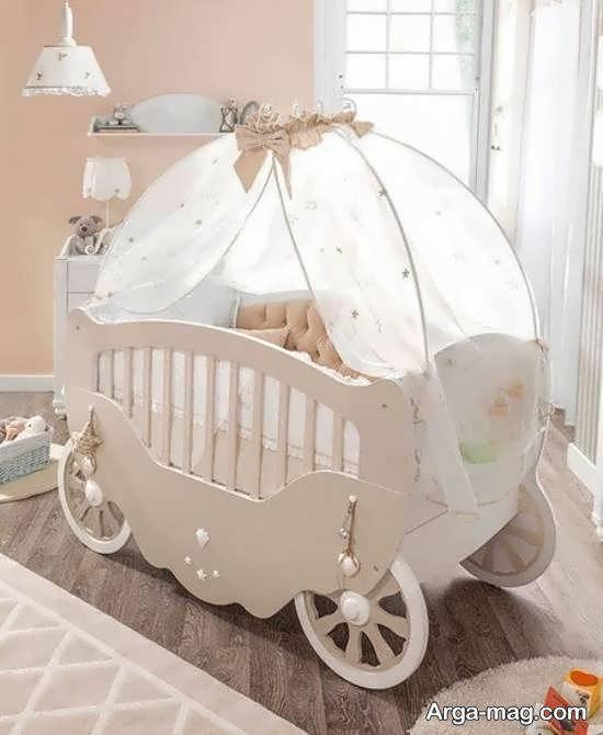 انواع مدل های تخت با شکل و رنگ متنوع برای نوزادی