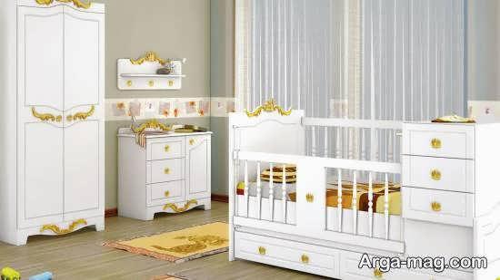 ایده هایی جالب و جذاب از طرح تخت نوزادی
