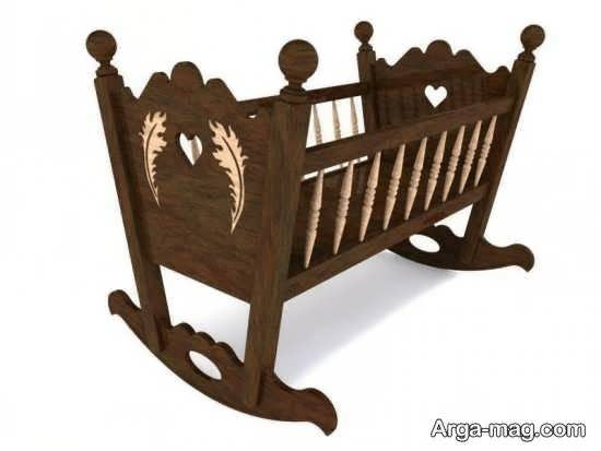 طرح های جدید و جذابی از تخت نوزادی