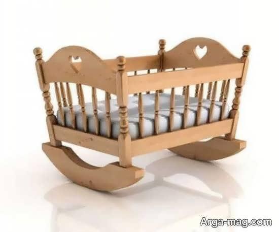 انواع نمونه های زیبا و شیک مدل تخت نوزادی