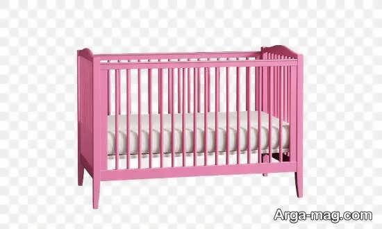 نمونه هایی زیبا و جذاب از طرح تخت نوزادی