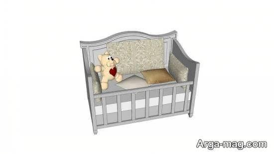 انواع الگوهای زیبا و بینظیر برای تخت نوزادی