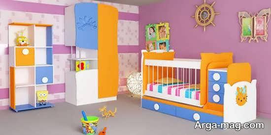 طرح هایی خارق العاده و جذاب از تخت برای نوزادی