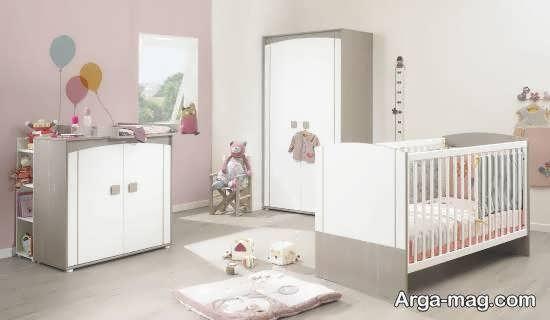 الگوهایی شیک و بینظیر از تخت برای نوزادی