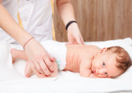 بررسی دررفتگی لگن نوزاد