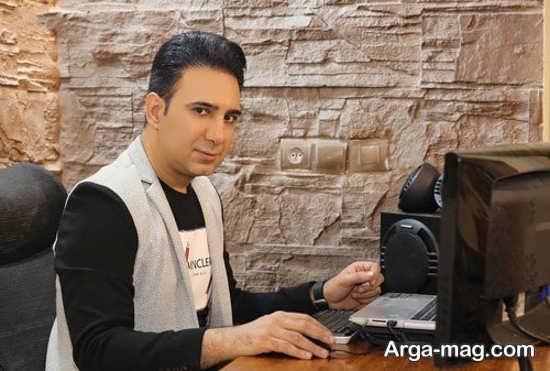 شرح حال شاهین صمدپور گزارشگر + عکس