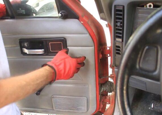 رگلاژ درب خودرو