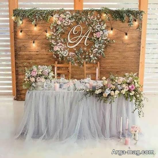 ایده هایی بینظیر و شیک از دیزاین جایگاه مراسم ازدواج