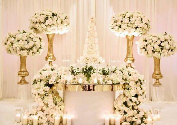 ایده های زیبا و متفاوت تزیین جایگاه عروس و داماد