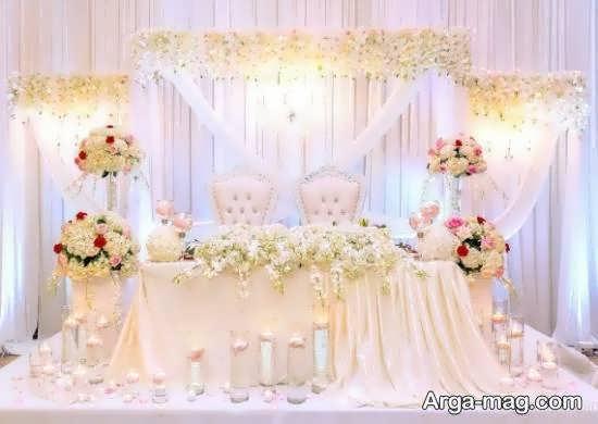 ایده هایی زیبا و چشم نواز از طراحی جایگاه مراسم ازدواج