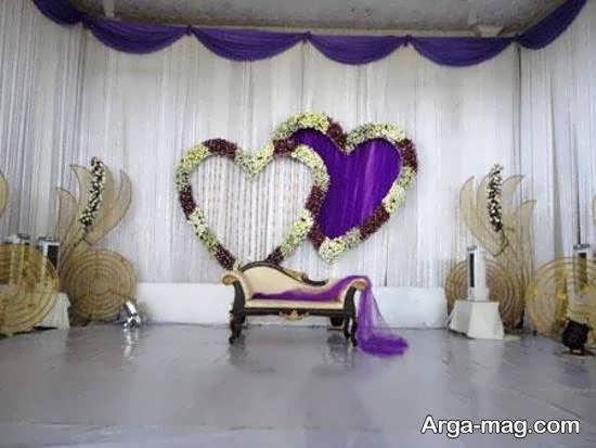 طراحی خارق العاده و دوست داشتنی دیزاین جایگاه مراسم ازدواج