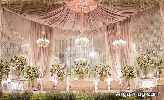 ایده هایی نفیس و ارزشمند از طراحی جایگاه مراسم ازدواج