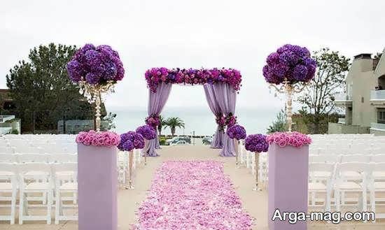 ایده هایی دوست داشتنی و زیبا از تزیین جایگاه مراسم ازدواج