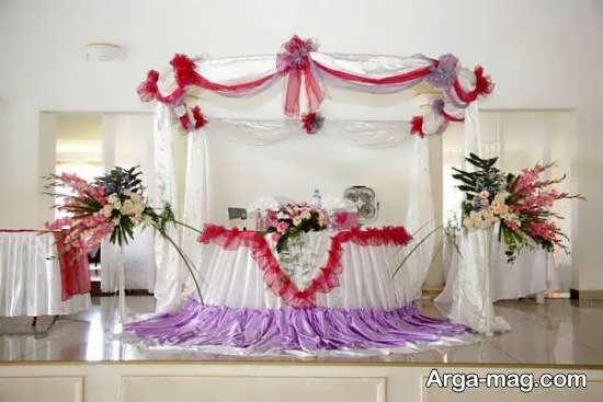 ایده هایی از تزیین جایگاه مراسم ازدواج برای خوش سلیقه ها