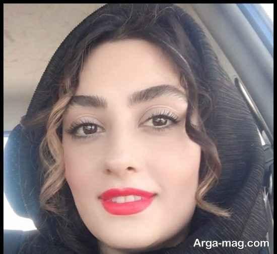الهام طهموری بازیگر مجموعه پرگار