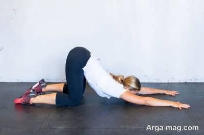 ورزش کردن به منظور درمان نفخ