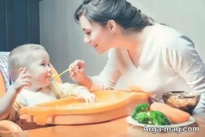 آشنایی با نوع تغذیه کودکان