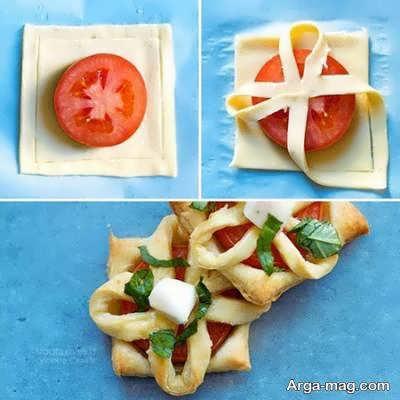 آشنایی با انواع نمونه های زیباسازی غذا و شیرینی با خمیر