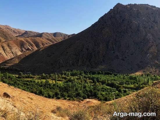 بازدید از آبادی هرانده با جاذبه های دیدنی