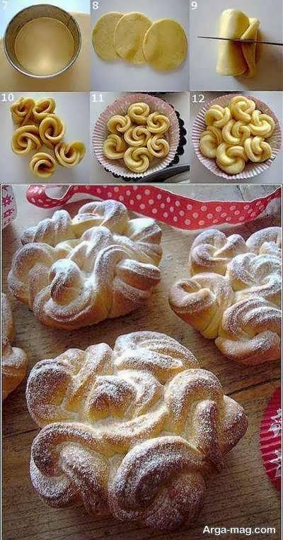 انواع ایده های لاکچری دیزاین غذا با خمیر