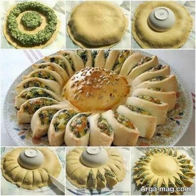 َآشنایی با نمونه های تزیین غذا با خمیر